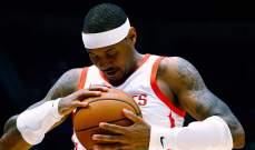 كارمليو انطوني يريد الاستمرار في NBA  للموسم ال18 على التوالي