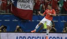 سانشيز سعيد بالهدف الذي سجله امام الاكوادور رغم الاصابة