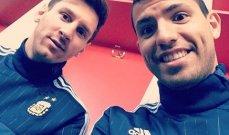 اغويرو: الوضع الاقتصادي ورحيل ميسي لا يغيران من رغبتي باللعب مع برشلونة