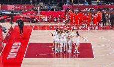 سيدات صربيا بكرة السلة يسجلن انتصارهن الاول في طوكيو 2020