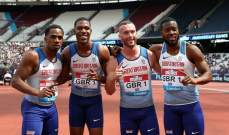 كورونا يتغلغل في الفريق البريطاني لالعاب القوى