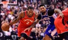 NBA: تورنتو يعود الى سكة الانتصارات ودنفر يعزز صدارته غربياً