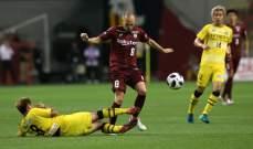 الدوري الياباني يعود في 4 تموز ومن دون جمهور