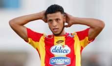 انيس البدري بديل الشعلالي في مباراة الاياب بين تونس والنيجر