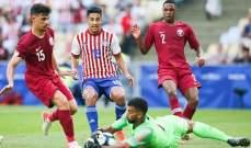 علامات لاعبي مباراة باراغواي - قطر