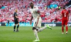 لوكاكو: كانت مباراة معقدة والدنمارك لا تستحق الإقصاء