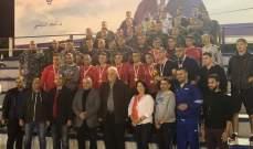 فوج اطفاء بيروت بطل كأس الاستقلال لكرة الصالات