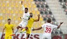 كأس أمير قطر: الشمال يقصي فريق قطر وينتقل إلى الدور المقبل
