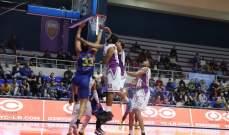 ترتيب بطولة لبنان لكرة السلة بعد انتهاء الجولة الرابعة