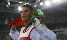 الأردني أبو غوش يحصد الميدالية الفضية في بطولة العالم للتايكواندو