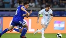 ميسي يرفض الاستسلام بعد التعادل مع البارغواي