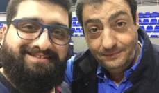 خاص - اكرم الحلبي : بيار كاخيا اوكلني مهمة تسيير اعمال الاتحاد