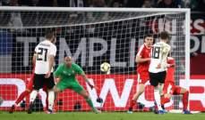المانيا المتجددة تنقاد الى التعادل امام صربيا قبل المواجهة المرتقبة امام هولندا