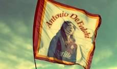روما يستذكر الراحل أنتونيو دي فالكي الذي مات ذعرًا