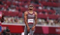 طوكيو 2020: دي غريس يفوز بذهبية سباق 200 متر