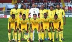 منتخب جنوب أفريقيا يزور الأهرامات