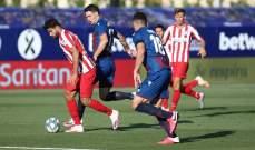 الليغا: اتلتيكو مدريد يستعيد المركز الثالث وتعادل بلد الوليد مع خيتافي