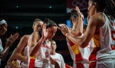 كرة سلة - طوكيو 2020: سيدات اسبانيا تستعدن صدارة المجموعة الاولى