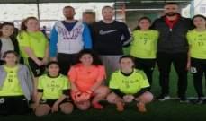 الوطنية الارثوذكسية تحرز لقب بطولة المدارس في عكار للاناث  فئة 2003/2004