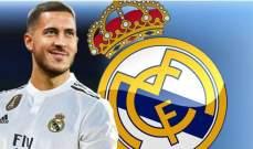ماركا : هازارد لاعبا في ريال مدريد