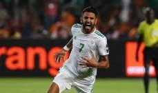 محرز يتفوق على زياش ويتوج بجائزة أفضل لاعب بالمغرب العربي