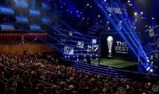 """انطلاق حفل جوائز الاتحاد الدولي """"فيفا"""" لعام 2018"""