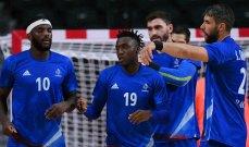 اولمبياد طوكيو : فرنسا تهزم البحرين وتتاهل الى نصف نهائي كرة اليد