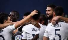 بعد حسم تأهلها فرنسا تحسم صدارة المجموعة امام تركيا بعد الفوز على البانيا