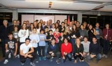 النادي اللبناني للسيارات والسياحة وزّع جوائزه على ابطاله الرياضيين