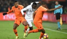 ماتويدي : المنتخب الفرنسي يستحق الخسارة امام هولندا