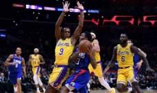 NBA: هيت يهزم هوكس وسقوط ليكرز