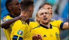 إحصاءات من مباراة السويد وسلوفاكيا