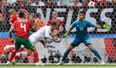 رونالدو يحقّق أرقاماً تاريخية مع نهاية الشوط الأول ضد المغرب