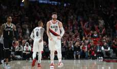 NBA: بورتلاند ثامن فريق يتاهل الى نهائيات الموسم الحالي