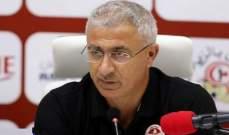 مدرب تونس : تنتظرنا مواجهات صعبة في التصفيات