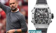 غوارديولا المدرب صاحب الساعة الأكثر قيمة مالية في إنكلترا