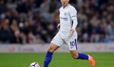 هازارد يشترط رحيل بايل للانتقال الى ريال مدريد