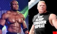 لاشلي يريد مواجهة بروك ليسنر في المصارعة أو MMA