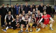 بطولة الدرجة الثانية في الكرة الطائرة: اللقب للقلمون ونادي السفارة الأميركية الوصيف