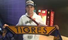 سالسيدو يعود الى الدوري المكسيكي من بوابة تيغريس
