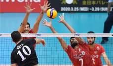 مصر تحقق الفوز الثاني في مونديال الطائرة وتونس تتعرض للخسارة الثانية