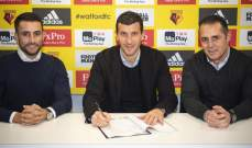 واتفورد يجدّد عقد مدربه حتى عام 2022