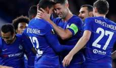 احصاءات مباراة تشيلسي وباوك في الدوري الاوروبي