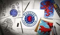 شعار جديد لنادي رينجرز الإسكتلندي