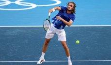 كرة مضرب- طوكيو 2020: تسيتسيباس ونيكشوري الى الدور الثاني