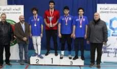 بطولة لبنان في المبارزة : الألقاب لأبو جودة والشويري وشرانق
