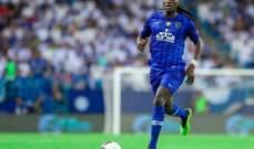 مهاجم الهلال الجديد يفوز بجائزة أفضل لاعب في تركيا
