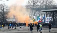 الشرطة الايطالية تلاحق جماهير الانتر وميلان