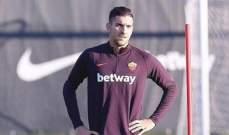 روما سيفتقد لاعبه لشهر اضافي
