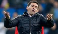 الافيس يقيل مدربه قبل مواجهة ريال مدريد